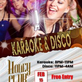 Friday Karaoke & Disco