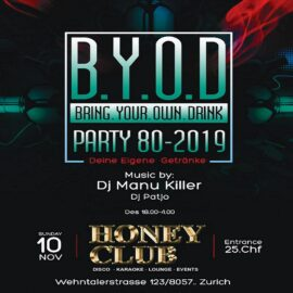 Bring.Your.Own.Drink-Party (B.Y.O.D)
