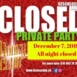 Closed (Private Party)